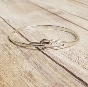 Tiffany & Co Infinity Interlocking Bangle Bracelet